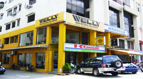 2001 welly showroom