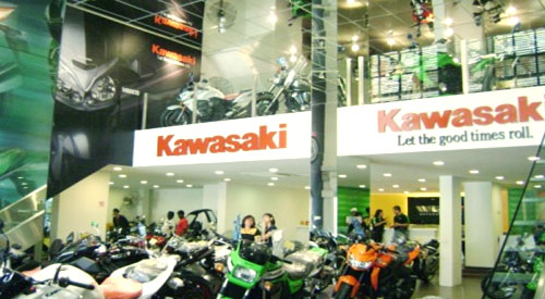 2008 welly gt world showroom 1